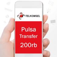 Telkomsel Transfer 200rb