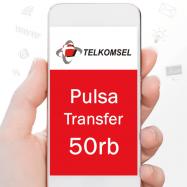 Telkomsel Transfer 50rb